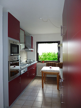 Holiday flat – Kitchen left view