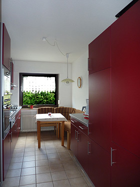 Holiday flat – Kitchen right view