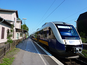 Meerbusch – Train RE10 to Düsseldorf